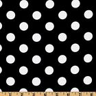 "50ft Polka Dot Satin Aisle Runner 60"" Wide 100% Polyester Fabric 7 Color Wedding"