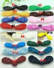 Wholesale 120pairs 16color pick Pipa knot Chinese frog closure fasteners Buttons