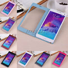 2015 Ultra-thin Flip View Window PU Leather Case Cover For Samsung Galaxy Note 4