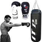 Boxing Set 4 FT,5 FT Filled Punch Bag Boxing Gloves Set Punching Bag With Chain