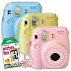 Fuji instax mini 8 BLUE PINK YELLOW - Fujifilm instant pictures camera + 20 film