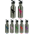 Personalized Custom Wind Surfing Stainless Steel 20 Oz Sport Water Bottle Gift