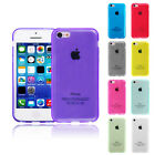 Clear Jelly Color Plain TPU Gel Soft Rubber Case Cover Skin for Apple iPhone 5C