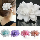Cute HAIR FLOWER CLIP PIN FOR BRIDAL WEDDING PROM PARTY GIRL WOMEN lovely Hot