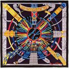 NEW Authentic Hermes Silk Scarf CEINTURES ET LIENS Black Toutsy