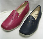Ladies DB Easy b Galway Navy or Fuschia Mocassin EEEE Fittng