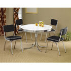 Cleveland Chrome Plated Side Chair - Set of 2
