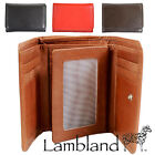 Lambland Womens / Ladies High Quality Smooth Leather Tri-fold Purse