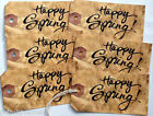 Hang Tags  GRUNGY HAPPY SPRING TAGS #T31  Gift Tags