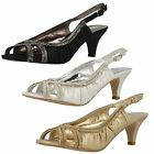 LADIES ANNE MICHELLE SLINGBACK SANDALS STYLE - F10287