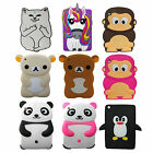 Cartoon Animals Cute Soft 3D Silicone Rubber New Case Cover For iPad Mini  2 3