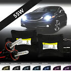 New 55W Slim HID Light Xenon Kit Conversion High Low Fog - All Sizes & Colors