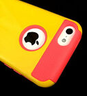 Shockproof Heavy Duty Hard Rugid Cover Case for iPhone 5C C + FREE GIFTS