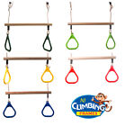 Children's TRAPEZE bar with Gym Rings Climbing Frame Swing Set SOLD OVER 1100 !!