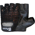Weight Lifting Gloves Leather Exercise Fitness Body Building Gym Gloves Padded