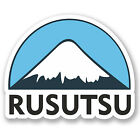 2 x 10cm Rusutsu Ski Snowboard Vinyl Sticker iPad Laptop Luggage Travel #5156