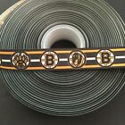 "7/8"" Boston Bruins Striped Grosgrain Ribbon by the Yard (USA SELLER!) $9.55 USD on eBay"