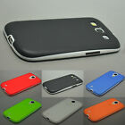 Rubber Case Cover TPU Matte Gel Back Hard Transparent Impact For Samsung Galaxy