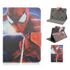 "Universal Fold Super Hero Kids Cartoon PU Leather Case Cover FR 7"" 8"" 10"" tablet"