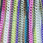 DIY Thin Metal Chain Braided for Tassel Fringe Clothes Pant Stud Bag Decor Color