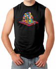 Melting Rubiks Cube - Rainbow Geek Nerd Math Science Men's SLEEVELESS T-shirt