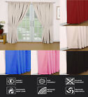 """""""Madrid"""" Dimout THERMAL Blackout  Ready Made Curtains 9 Sizes, 4 Colours"""
