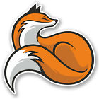2 x Fox Vinyl Sticker iPad Laptop Car Travel Luggage Dog Animal Ginger #5170/SV