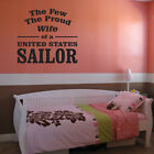 United States Sailor Navy Wall Decal - Vinyl Decal - Car Decal - CF087