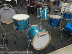 Sonor Martini SE Be BOP Drum Set 3 Piece Shell Pack Gig Kit Turquoise Sparkle