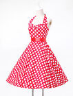 FAST Plus Size Vintage Swing 50s Housewife Pinup Rockabilly Prom Evening Dresses