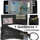 1 Dollar clip Wallet with Coin pocket + 1 Keychain with Leather bag / 8310