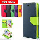 Galaxy S6 Edge & S6 Case Leather Wallet Cover For Samsung