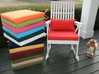 """20""""X20""""X2"""" - Foam Rocking Chair Cushion & Pillow Set In Outdoor - SOLID COLORS"""