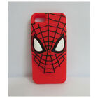 Cute Super Heroes Silicone 3D Phone Case Cover iPhone 6 & Samsung Galaxy Note 3