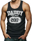 Daddy Since 2017 - Father's Day New Dad Men's Tank Top T-shirt