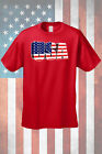 Men's Patriotic T-Shirt 3D USA Flag Pride Stars & Stripes American Old Glory Tee