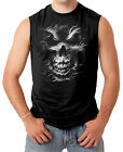 Silver Skull Men's SLEEVELESS T-shirt