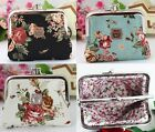 Anna Sui Cotton Coin Purse Floral Prints, Christmas Stuffer & Ship from USA image