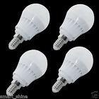 6x 5W E14 SES LED SMDs Globe Bulbs Spotlight Golf Shape Lamp W/D White Light