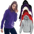 Mens Womens Fleece Lined Heavy Cotton Hooded Sweatshirts Hoody Hoodie Tshirt Top