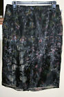 MNG by Mango Floral Illusion Pencil Skirt 6