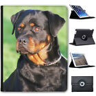 Rottweiler Dog Folio Cover Leather Case For Apple iPad