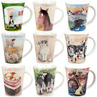 Churchill Alex Clark Flirt China Mug Farmyard Animals Caravan Motorcycles