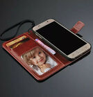 Retro With Lanyard Flip Wallet Leather Case Cover For Samsung Galaxy S6 G9200