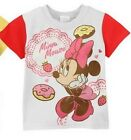 (TEE07T) 1 x Lovely Red Color Minnie Choose Cartoon Short Sleeve T Shirt