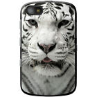 White Tigers Hard Case For Blackberry Models