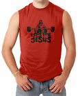 Reps For Jesus - Gym Workout Exercise Fit Men's SLEEVELESS T-shirt