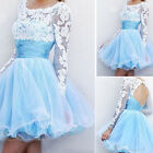 FO Stylish Short Prom Evening Dress party Ball Gowns girls Usual dress stock  UK