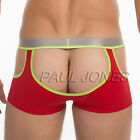 Sexy New Mens Cheeky Hollowed Underwear Boxer Briefs Trunks Underpants S M L SZ