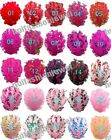 Lots 25color pick 6 Curly Goose nagorie feather pad appliques trims for headband